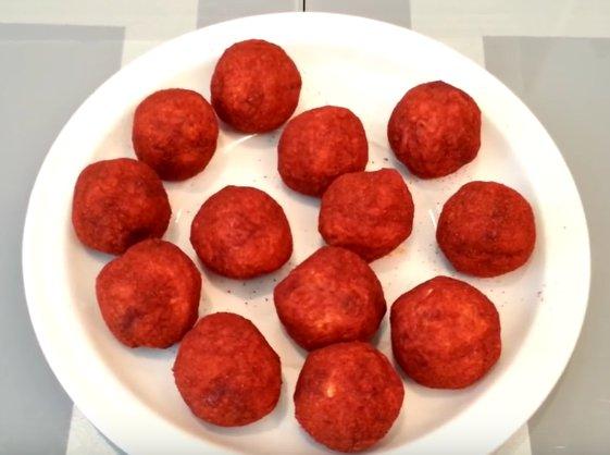 Закуска сырные шарики рецепт с пошагово в
