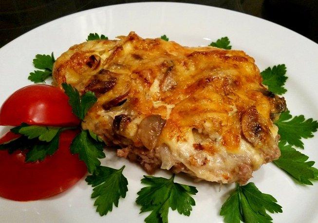 Грибовница с мясом рецепт