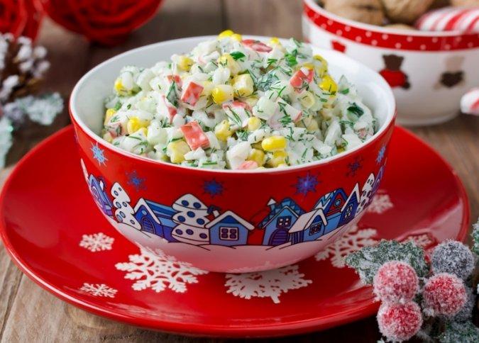Рецепты вкусных и недорогих салатов к празднику