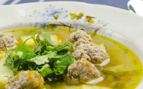 Суп с фрикадельками и рисом пощаговый рецепт с фото