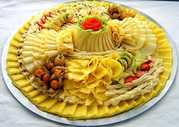 Закуски из сыра на праздничный стол