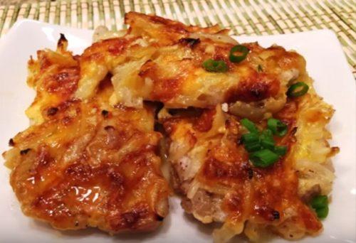 Курица в духовке самый простой рецепт 196