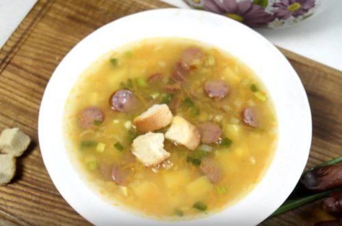 Классический гороховый суп — лучшие пошаговые рецепты.   Семейный очаг   Яндекс Дзен
