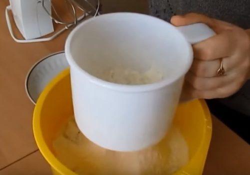 Заварные блины на молоке