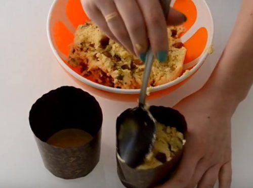 Творожный кулич апельсиновый