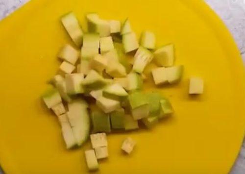 Овощное рагу с картофелем и баклажаном