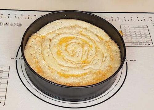 Пирог «улитка» из слоеного теста с фаршем и рисом