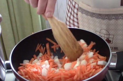 Щавелевый суп с цветной капустой