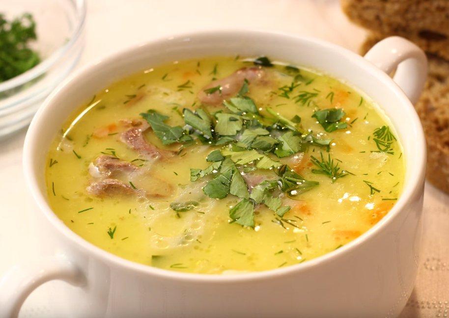 Сырный суп - 132 рецепта приготовления пошагово