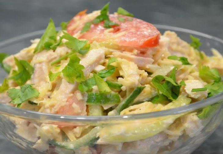 салат на 10 человек рецепты