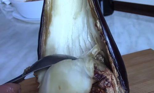 Баклажаны фаршированные куриной грудкой запеченные в духовке