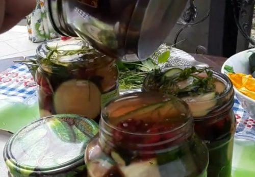 Ароматные маринованные кабачки на зиму без стерилизации