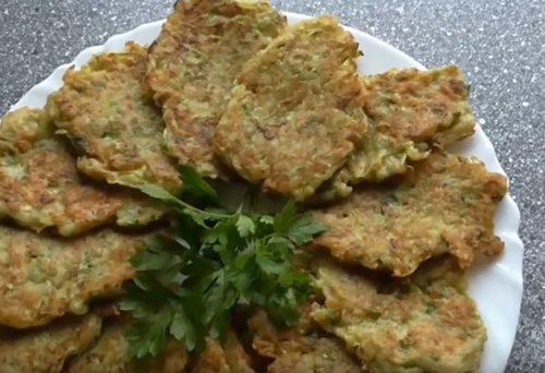 Рецепт оладий из кабачков с картофелем