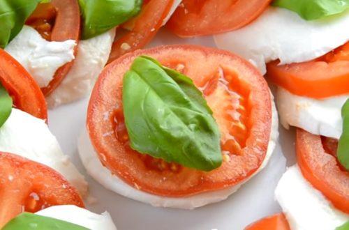 Салат Капрезе — рецепт классический с фото пошагово