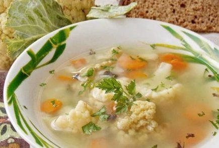 Вкусный суп из цветной капусты. 9 рецептов приготовления простого и быстрого обеда