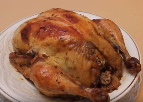 Как приготовить курицу, фаршированную гречкой