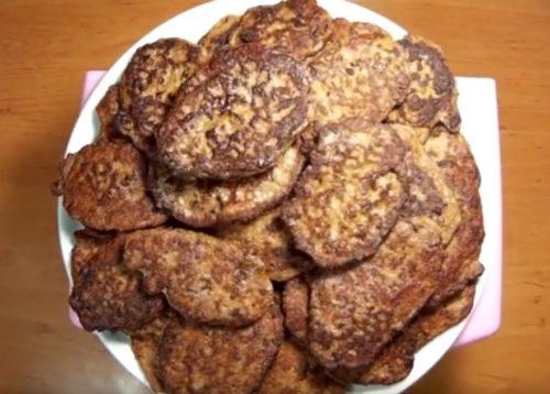 Как приготовить печеночные оладьи с манкой