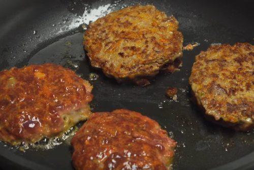Печёночные оладьи из говяжьей печени