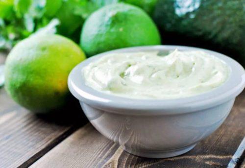 Рецепт майонеза без яиц с авокадо