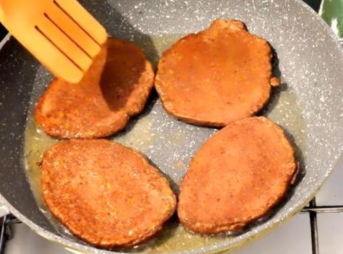 Рецепт вкусных и сытных печеночных оладий с гречкой