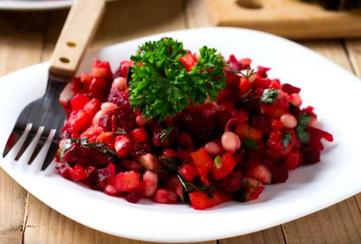 Винегрет салат за 5 минут