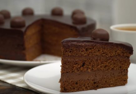 Домашний шоколадный торт Трюфель