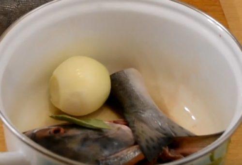 Праздничное заливное из лосося