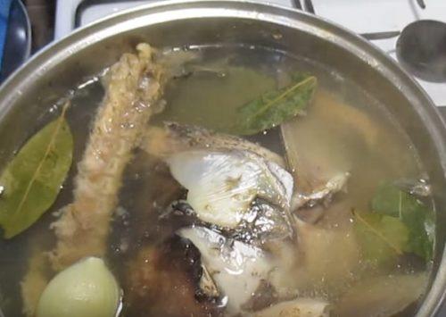 Рыбный холодец из толстолобика