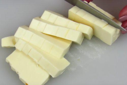 Форшмак из сельди с плавленым сыром и морковью