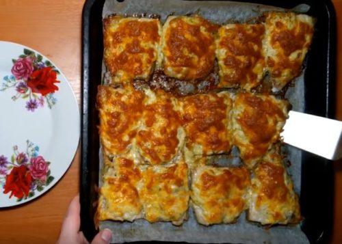 Как приготовить скумбрию в духовке под сырной корочкой