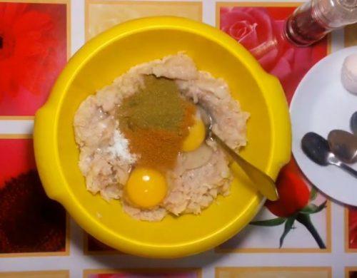 Праздничный торт-закуска из куриного филе