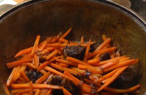 Как приготовить классический плов из говядины в казане