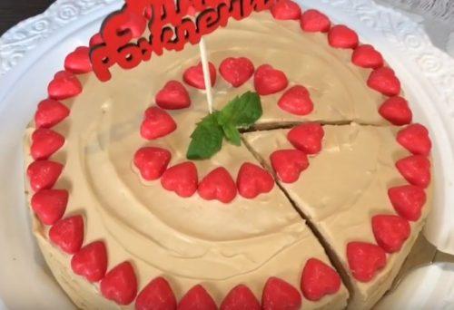 Праздничный блинный торт «Крепвиль»