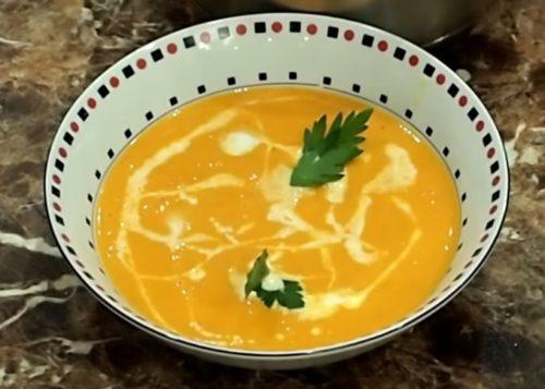 Рецепт простого томатного крем-супа со сливками