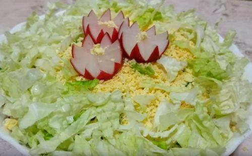 Салат из пекинской капусты с огурцом. 8 рецептов полезных и простых салатов