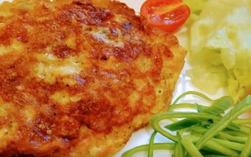 Рецепт куриного филе в кляре с сыром сулугуни