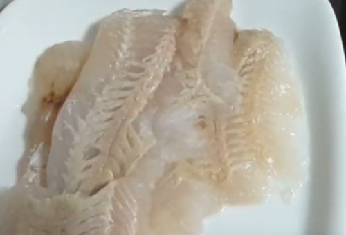 Филе трески сырое