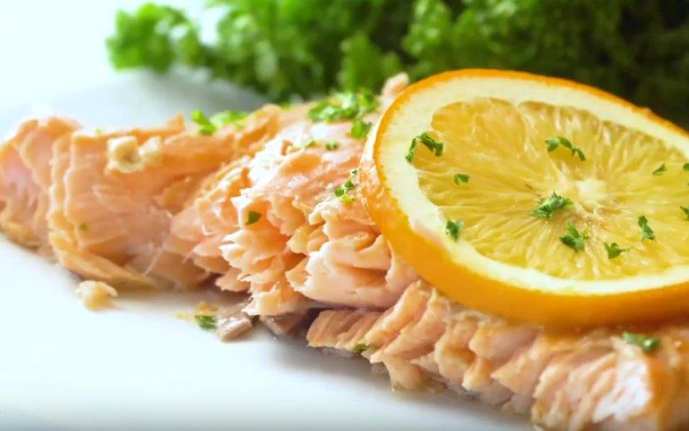 Кусочки рыбы в фольге в духовке