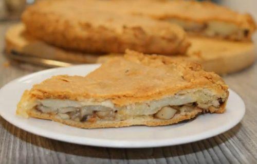 Пирог с картошкой и грибами. 6 простых рецептов вкуснейшего пирога