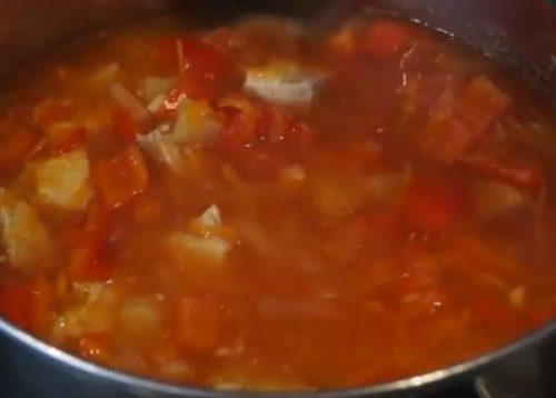 Рецепт Овощное рагу с мясом: видео-рецепт